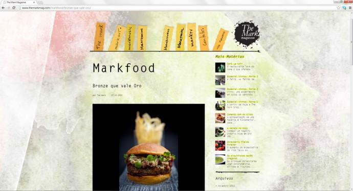 """Seção """"Markfood"""""""