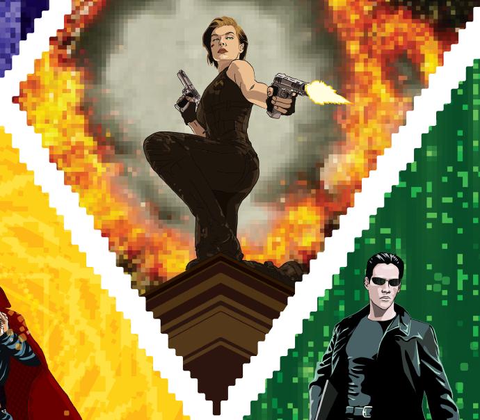 Resident Evil e Matrix